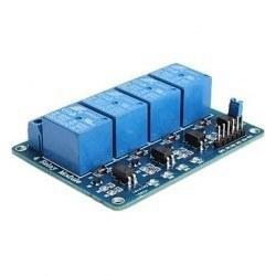 4 Way 5 V Relay Module - 4'lü 5 V Röle Kartı - Thumbnail