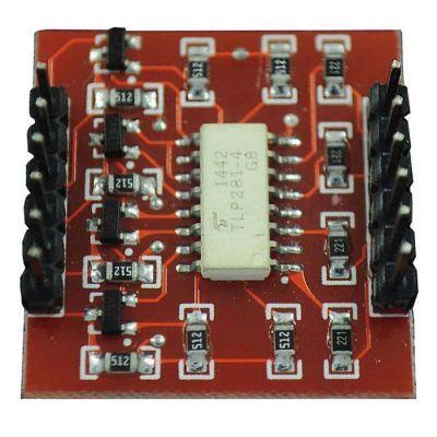 4-way Optical Coupling Isolation Module