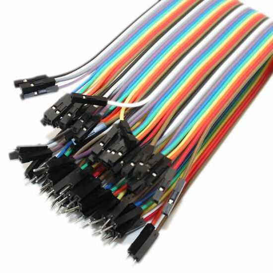 40 Pin Ayrılabilen Dişi-Erkek M-F Jumper Kablo-200 mm