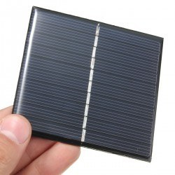 4.2 V 100mA Solar Cell - Solar Panel 60x60mm - Thumbnail