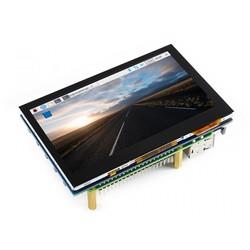 WaveShare 4.3 Inch HDMI Kapasitif Dokunmatik LCD - 800x480 (B) - Thumbnail
