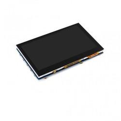 WaveShare - WaveShare 4.3 Inch HDMI Kapasitif Dokunmatik LCD - 800x480 (B)