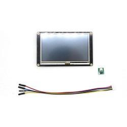 Nextion - 4.3 Inch Nextion HMI Dokunmatik TFT Lcd Ekran + 8 Port GPIO / 32 MB Dahili Hafıza