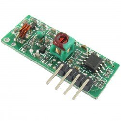 China - 433 MHz RF Kablosuz Alıcı(Reciver)