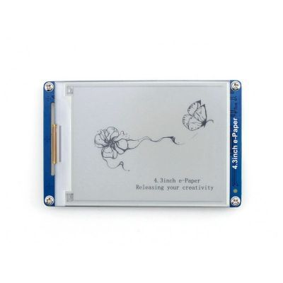 WaveShare 4.3 Inch e-Paper Ekran