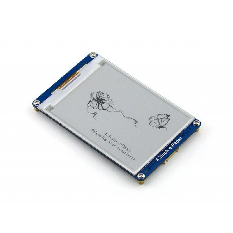 27 264x176 ePaper Display Module For Arduino, mbed