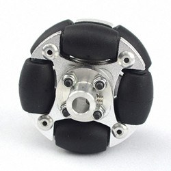 48 mm Omni Wheel (Her Yöne Dönebilen Tekerlek) - 14148 - Thumbnail