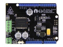 4A Motor Shield - Compatible with MC33932 Pair Motor Driver Board - Thumbnail