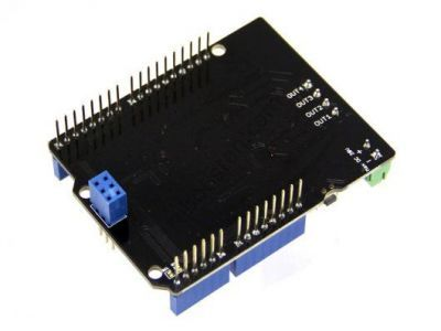 4A Motor Shield - Compatible with MC33932 Pair Motor Driver Board
