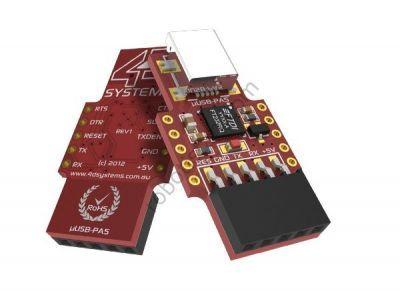 4D micro USB Programlper Adaptor - 4D Systems uUSB-PA5