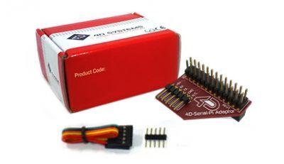 4D Raspberry Pi Adapter Shield