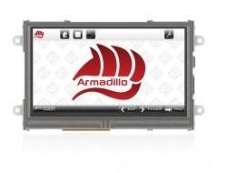 4D Systems Armadillo-43T Dahili Dokunmatik Ekranlı Bilgisayar - Thumbnail