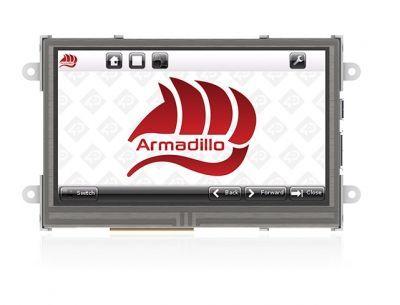 4D Systems Armadillo-43T Dahili Dokunmatik Ekranlı Bilgisayar