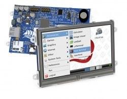 4D Systems - 4D Systems Armadillo-43T Dahili Dokunmatik Ekranlı Bilgisayar