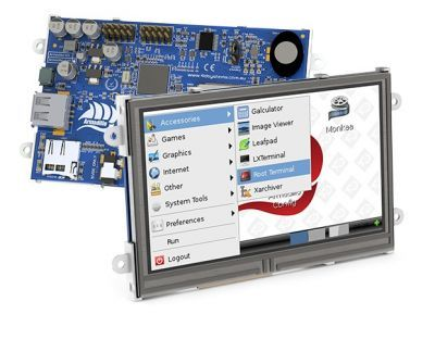 4D Systems Armadillo-43T Internal Touchscreen Computer