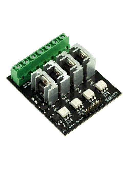 AC Gerilim Ayarlayıcı Dimmer Modül - 110/400V - 4 Kanal