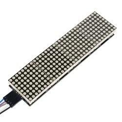4'lü 8x8 Kırmızı Dot Matrix Board - Thumbnail