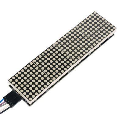 4'lü 8x8 Kırmızı Dot Matrix Board