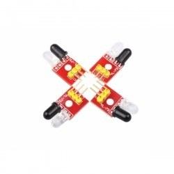 4'lü Çizgi İzleyen Sensör Seti - 4 Way Tracking Module - Thumbnail