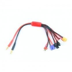 Robotistan - 4 mm Banana - Karışık Kablo Dönüştürücü - 30 cm