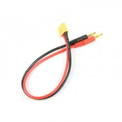 China - 4mm Banana to Male XT60 Cable - 30cm, 14AWG