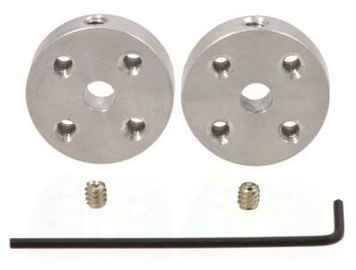 4 mm Motor Bağlantı Elemanı Çifti (M3 Sabitleme Vida Delikli) - PL-1997