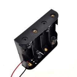 4xAA Battery Holder - Thumbnail