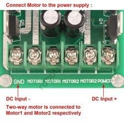 5-35V 30A Pair Motor Driver Board - Thumbnail