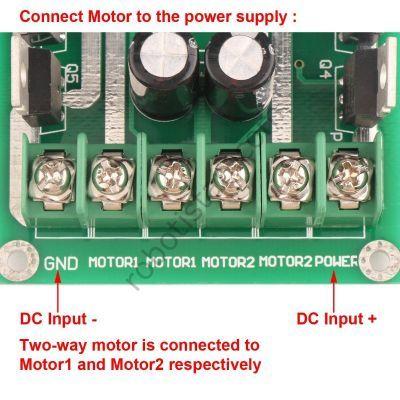 5-35V 30A Pair Motor Driver Board