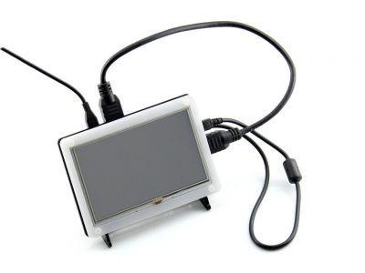 WaveShare - WaveShare 5 Inch HDMI Ekran için Case (1)