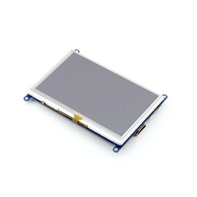 WaveShare 5 Inch HDMI Rezistif Dokunmatik LCD Ekran - 800x480 (B)