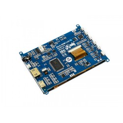 WaveShare 5 Inch HDMI Kapasitif Dokunmatik LCD (Çoklu Sistem) - 800x480 (H) - Thumbnail