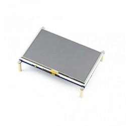 WaveShare - WaveShare 5 Inch HDMI Rezistif Dokunmatik LCD - 800x480