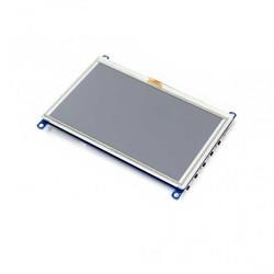 WaveShare - WaveShare 5 Inch HDMI Rezistif Dokunmatik LCD (Çoklu Sistem) - 800x480 (G)