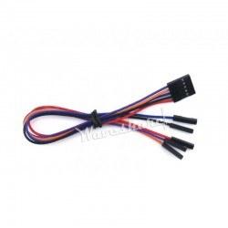WaveShare - 5 Pin Dişi-Dişi Jumper Kablo
