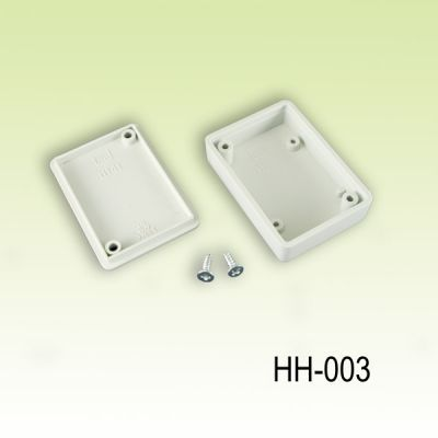 50 x 35 x 15 mm El Tipi Kutu - HH-003 (Açık Gri)