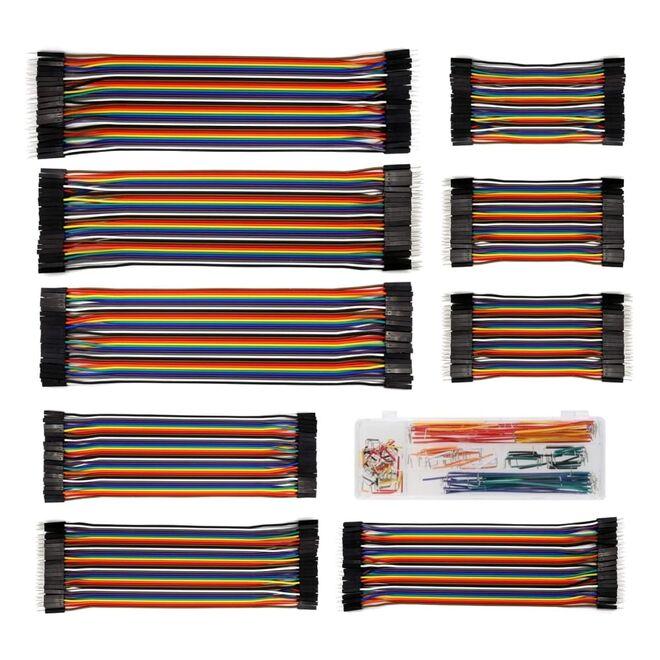 500 Piece Jumper Cable Set
