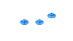 50mm Plastik Omni Tekerlek - Beyaz - Thumbnail