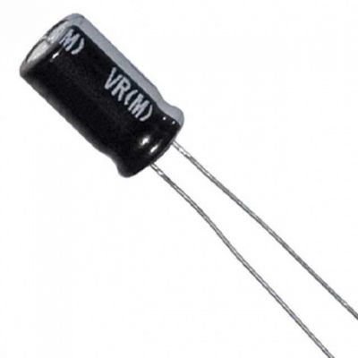 50V 100uF Capacitor Package - 10