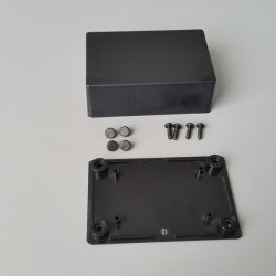 Altınkaya - 54 x 83 x 30 mm Proje Kutusu - PR-040 (Siyah)