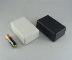 Proje Kutusu - 54 x 84 x 32 mm El Tipi Kutu (Siyah)