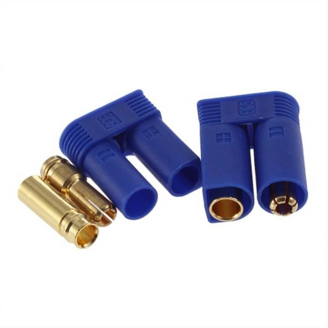 5mm EC5 Banana Battery Connector (Male-Female Pair)