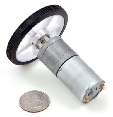 5 mm Motor Bağlantı Elemanı Çifti (M3 Sabitleme Vida Delikli) - PL-1998