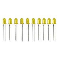 Robotistan - 5 mm Sarı Led Paketi - 10 Adet