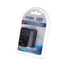 Ataba - 5V 1000mA Adapter with USB Output - AT-105USB