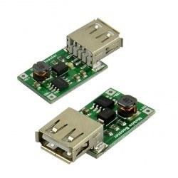 5 V 1200 mA USB Çıkışı Voltaj Yükseltici Regülatör Kartı - Step Up - Thumbnail