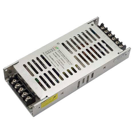 5V 40A Slim Metal Kasa İç Mekan Power Supply