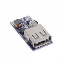 5 V 600 mA USB Çıkışı Voltaj Yükseltici Regülatör Kartı - Step Up - Thumbnail