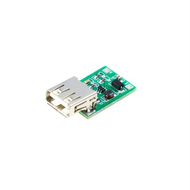 5 V 600 mA USB Çıkışı Voltaj Yükseltici Regülatör Kartı - Step Up