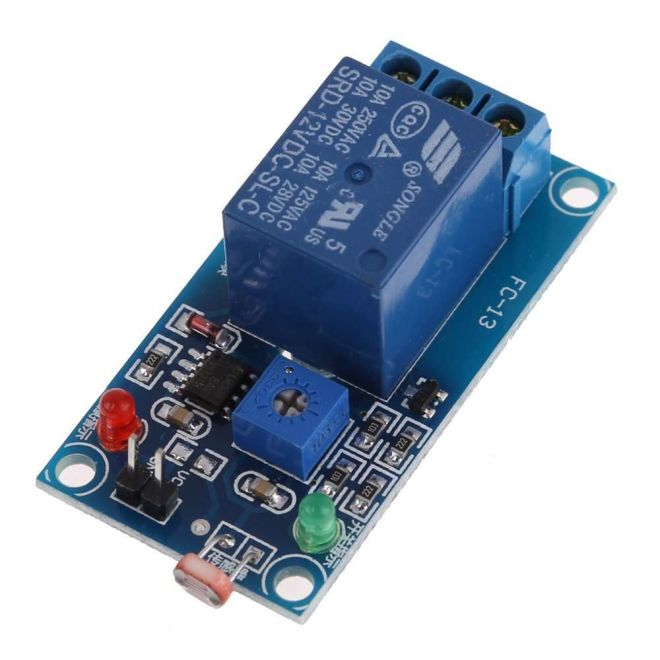 5V Single LDR Triggered Relay Board